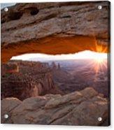 Sunrise - Mesa Arch Acrylic Print