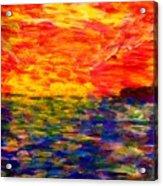 Sunrise #1  15-7 Acrylic Print