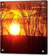 Sunrise 5 1 2009 002a Acrylic Print