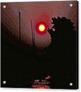 Sunrise 7 Over Lake Michigan  Acrylic Print