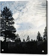 Sunrise Along The California Oregon Border Acrylic Print