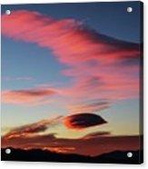 Sunrise Artwork Acrylic Print
