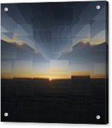 Sunrise At 30k  8 Acrylic Print