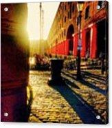 Sunrise At Albert Dock Acrylic Print