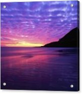 Sunrise At Bray Head, Co Wicklow Acrylic Print