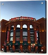 Sunrise At Busch Stadium Acrylic Print