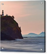 Sunrise At Cape Disappointment Acrylic Print