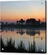 Sunrise At Cecil B. Webb Acrylic Print