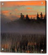 Sunrise At Connery Pond 1 Acrylic Print