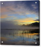 Sunrise At Connery Pond 3 Acrylic Print