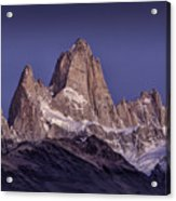 Sunrise At Fitz Roy Patagonia 8 Acrylic Print