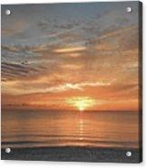 Sunrise At Hollywood Beach Acrylic Print