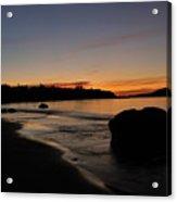 Sunrise At Ingonish Acrylic Print