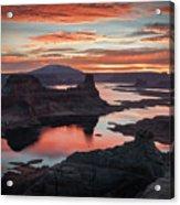Sunrise At Lake Powell Acrylic Print