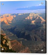 Sunrise At Mather Point  --  Grand Canyon  Acrylic Print