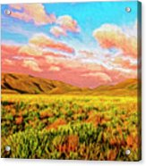 Sunrise At Montana De Oro Acrylic Print