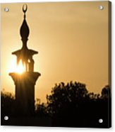 Sunrise At Mosque Of Tadjourah In Djibouti East Africa Acrylic Print