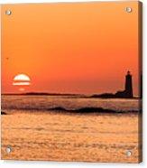 Sunrise At Odiorne Point 1 Acrylic Print