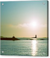 Sunrise At Odiorne Point 2 Acrylic Print