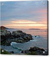 Sunrise At Portland Head Lighthouse Acrylic Print