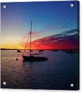 Sunrise At Provincetown Pier 1 Acrylic Print