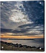 Sunrise At Rudee Inlet Acrylic Print