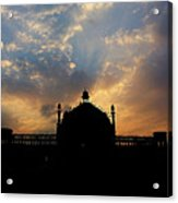 Sunrise At Rumi Gate Acrylic Print