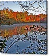 Sunrise At Schooleys Mountain Acrylic Print