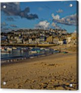 Sunrise At St Ives Acrylic Print