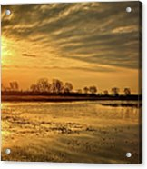 Sunrise At The Big Marsh Acrylic Print
