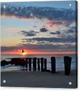 Sunrise At The Jersey Shore Acrylic Print