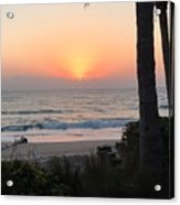 Sunrise At The Pipe Acrylic Print