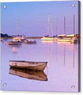 Sunrise At West Bay Osterville Cape Cod Acrylic Print