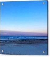 Sunrise Beach Walk Acrylic Print