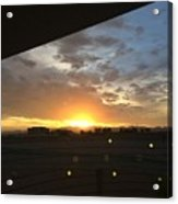 Sunrise Before Class Acrylic Print