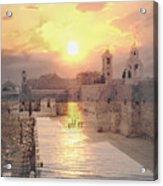 Sunrise Bethlehem Acrylic Print