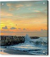 Sunrise California Coast Acrylic Print