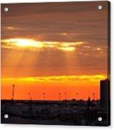 Sunrise Cape Canaveral Florida Acrylic Print