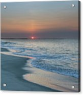 Sunrise - Cape May Beach Acrylic Print