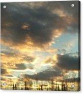 Sunrise Cloudscape Acrylic Print