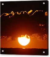 Sunrise Crown Acrylic Print