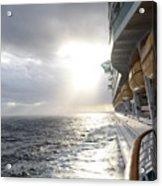Sunrise Cruise Acrylic Print