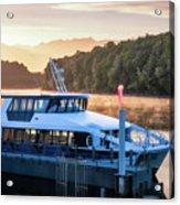 Sunrise Cruise To Doubtful Sound Acrylic Print