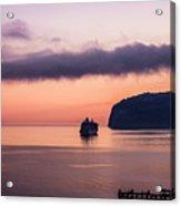 Sunrise Departure Acrylic Print