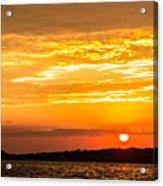 Sunrise Field Goal Acrylic Print