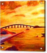Sunrise Fiesta Key Acrylic Print