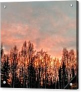 Sunrise Fire  Acrylic Print