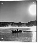 Sunrise Fishing 2 Acrylic Print