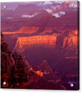 Sunrise From Mather Point Acrylic Print