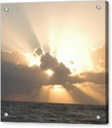 Sunrise From Sexton Plaza Acrylic Print